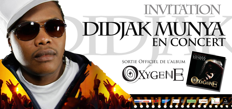 Didjak Munya Album Launch in Kinshasa
