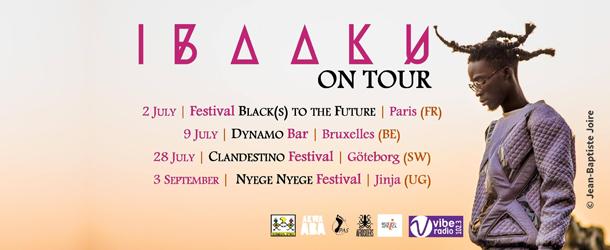 Ibaaku Summer Tour Dates