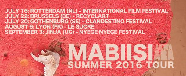 Mabiisi Summer Tour Dates